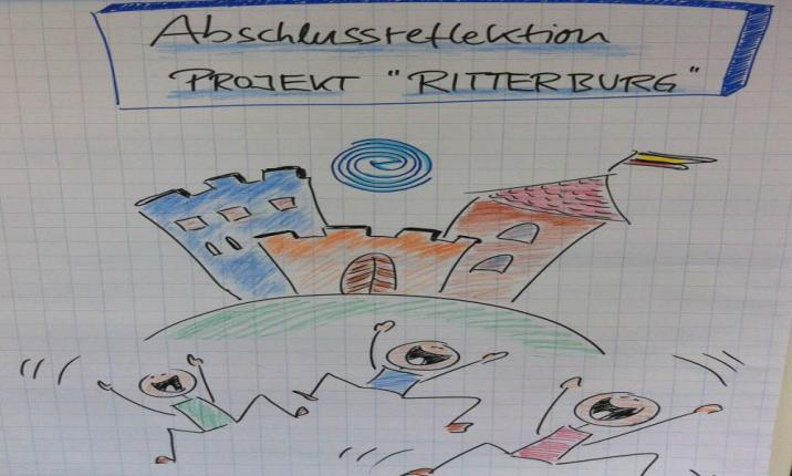 Plan Bau Ritterburg Corporate Event Sozialprojekt Teambuilding Teamevent